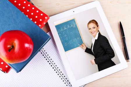Photo pour Online education concept - image libre de droit