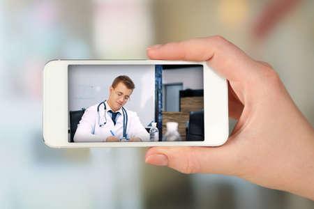Foto de Healthcare online consulting concept - Imagen libre de derechos