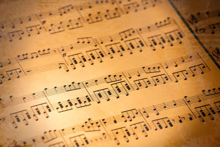 Photo pour Music notes background - image libre de droit