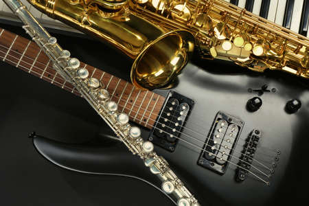 Photo for Musical instruments, closeup - Royalty Free Image