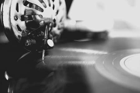 Foto für Old gramophone closeup - Lizenzfreies Bild