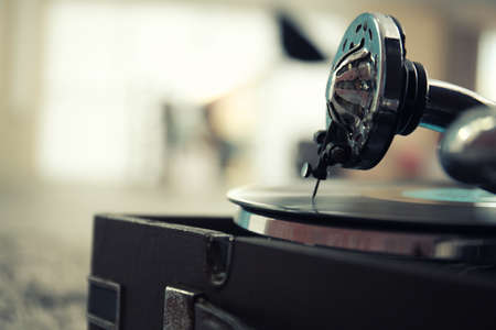 Photo for Old gramophone closeup - Royalty Free Image