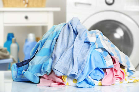Photo for Pile of dirty laundry - Royalty Free Image
