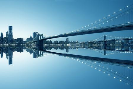 Foto de New York City Manhattan skyline panorama - Imagen libre de derechos
