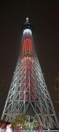 Foto de Tokyo skytree from ground to top - Imagen libre de derechos