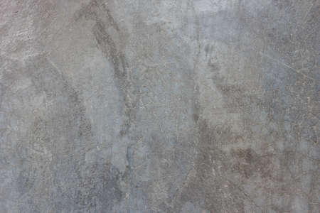 Photo pour Texture of the gray polished concrete wall with scratches  - image libre de droit