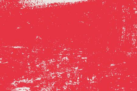 Ilustración de Grunge Red Rectangle Texture For your Design. Empty expressive Distressed Background. EPs10 vector. - Imagen libre de derechos