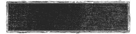Ilustración de Artistic messy wide screen banner background. Dirtty isolated panoramic basis. Paint roller distress overlay texture. Grunge design element. EPS10 vector - Imagen libre de derechos