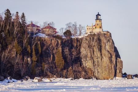 Foto de Split Rock Lighthouse. Minnestota, United States. - Imagen libre de derechos