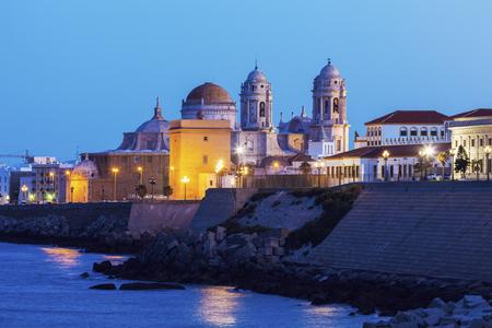 Foto de Cathedral de Cadiz. Cadiz, Andalusia, Spain. - Imagen libre de derechos