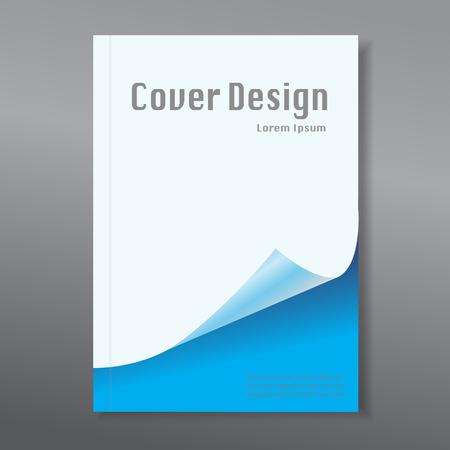 Illustration pour Modern abstract brochure / book / design template - image libre de droit