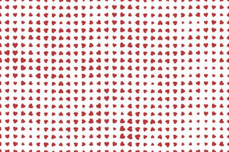 Ilustración de Shape of heart or love, abstract background pattern. Style of mosaic or tile. Vector illustration graphic. - Imagen libre de derechos