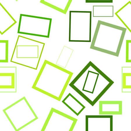 Ilustración de Seamless shape of square, rectangle, abstract geometric background pattern. Vector illustration graphic. - Imagen libre de derechos