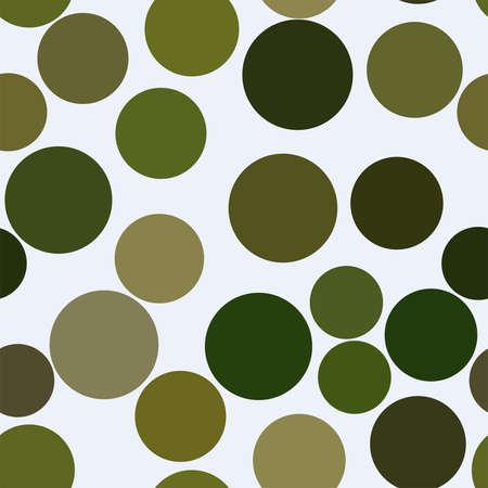 Ilustración de Seamless artistic circles, bubbles, sphere or ellipses background pattern abstract. Vector illustration graphic. - Imagen libre de derechos