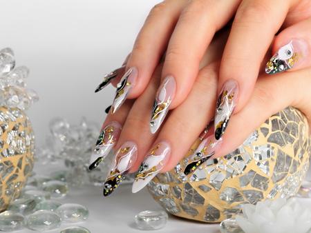 Foto de Studio nail art. - Imagen libre de derechos
