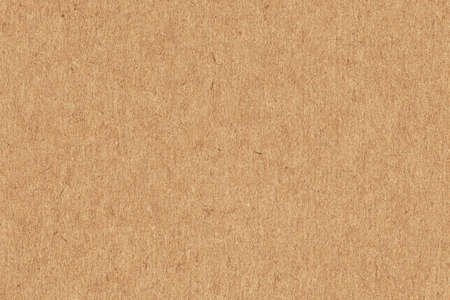 Photo pour Photograph of recycle Light Vivid Brown kraft paper, extra coarse grain, grunge texture sample - image libre de droit