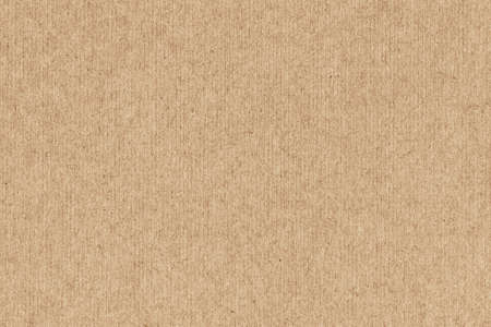 Photo pour Photograph of Yellow Ocher recycle striped paper, extra coarse grain, grunge texture sample. - image libre de droit