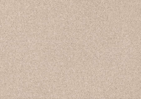 Photo for Recycle Beige Kraft Paper Coarse Grain Grunge Texture Sample - Royalty Free Image