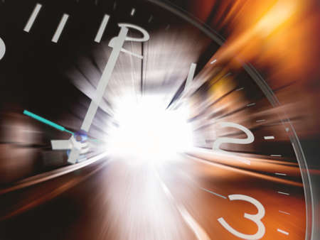Photo pour Time travelling - image libre de droit