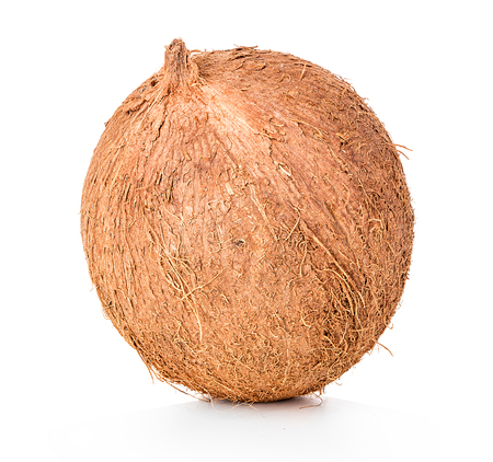 Photo for Coconut isolated on white background - Royalty Free Image