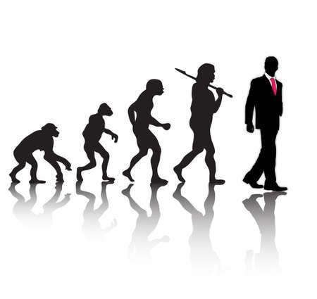 Illustration pour evolution - image libre de droit