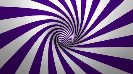 Foto de Hypnotic spiral ? swirl, purple and white background in 3D - Imagen libre de derechos