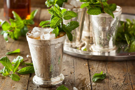 Refreshing Cold Mint Julep mural