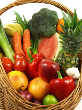 Vegetable and fruit is a healthy lifestyle