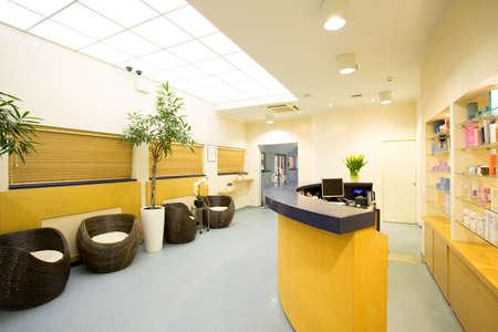 Foto de Reception and hall in luxury beauty center - Imagen libre de derechos