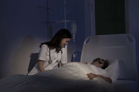 Foto de Palliative care - care for terminally ill patient - Imagen libre de derechos