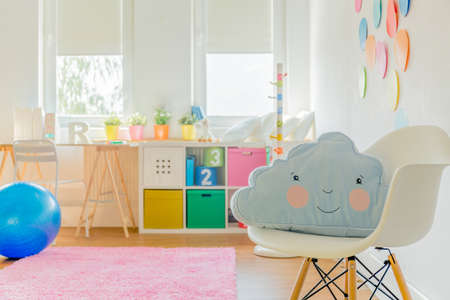Photo pour Cute room for little girl or boy - image libre de droit