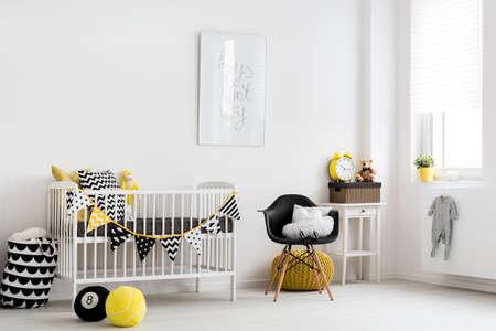 Photo pour Shot of a stylish nursery room - image libre de droit
