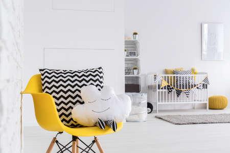 Foto de Image of a spacious baby room - Imagen libre de derechos