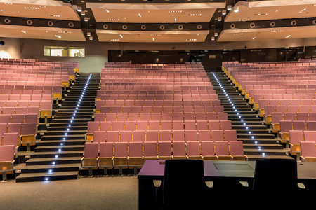 Photo for Shot of a large spacious lecture hall - Royalty Free Image
