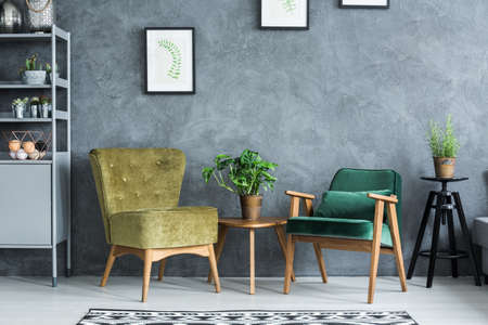 Photo for Flat with modern and stylish furniture - Royalty Free Image