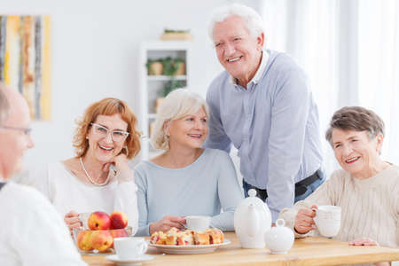 Photo for Group of active older people having fun together - Royalty Free Image