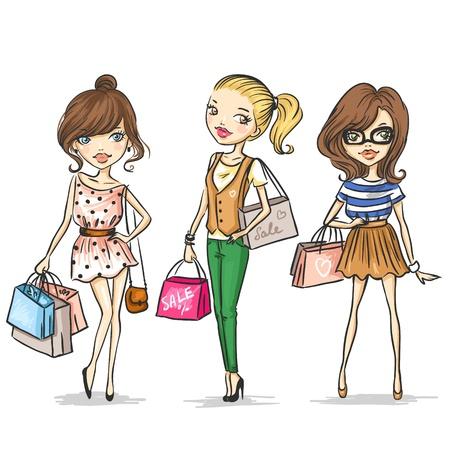 Foto de Fashion girls - Imagen libre de derechos