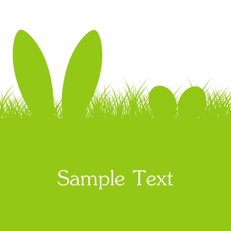 Easter Green Background