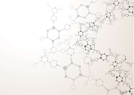 Foto per DNA molecule structure background - Immagine Royalty Free