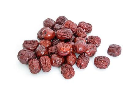 Photo pour A small pile of dates close up view - image libre de droit