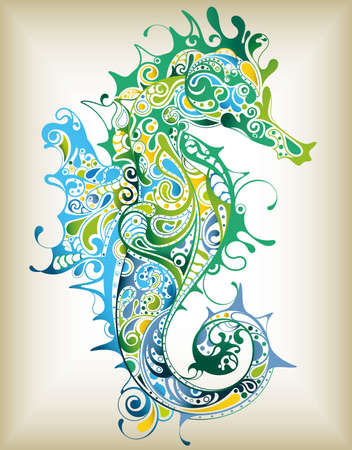 Foto de Abstract Seahorse - Imagen libre de derechos