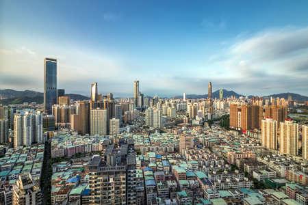 Photo for Shenzhen city skyline - Royalty Free Image