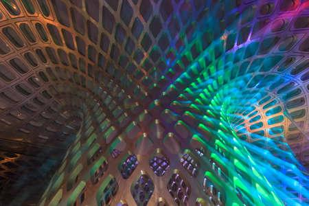 Foto de Geometric art of modern architecture - Imagen libre de derechos