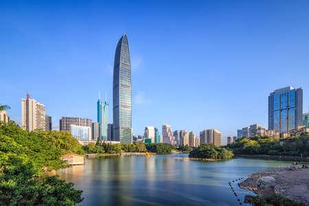 Foto de Shenzhen skyline - Imagen libre de derechos