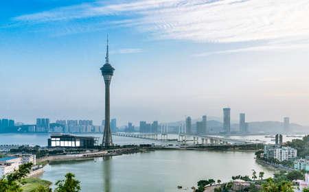 Foto de Macao skyline - Imagen libre de derechos