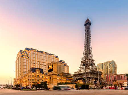 Photo pour Macau Parisian Resort Village Hotel - image libre de droit