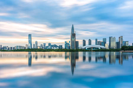 Photo for Shenzhen Bay City Complex - Royalty Free Image
