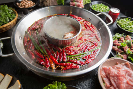 Photo for Hot pot ingredients - Royalty Free Image