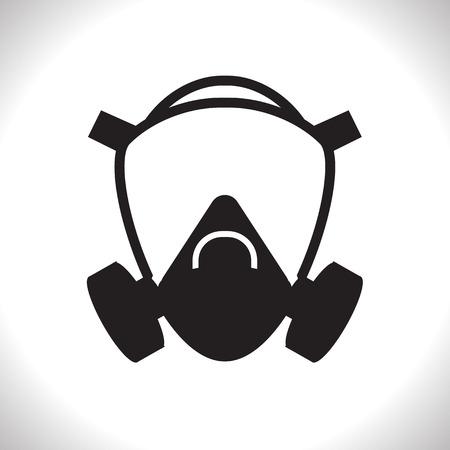 Illustration pour Gas mask - image libre de droit