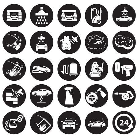 Illustration pour Car wash icon - image libre de droit